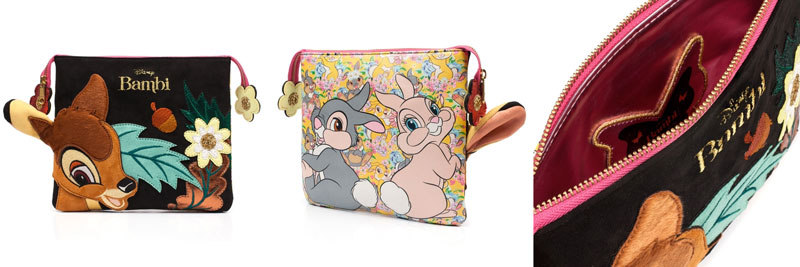 Irregular Choice x Bambi Bag - A Woodland Take Pouch Bag