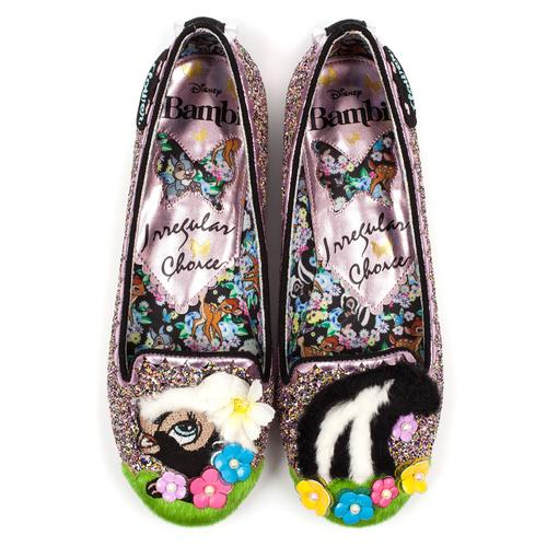 Irregular Choice x Bambi Bashful Skunk Shoes