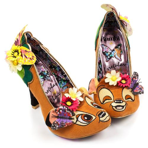 Hyah Bambi Irregular Choice Shoes