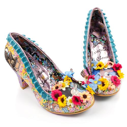 Irregular Choice x Disneys Bambi I'm Thumpin Shoes