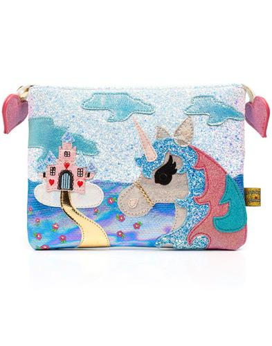 King Of The Castle IRREGULAR CHOICE Pouch White