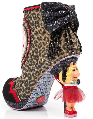Fierce Piggy IRREGULAR CHOICE x MUPPETS Heel Boots