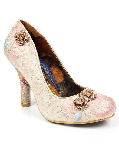 Speak Easy IRREGULAR CHOICE Retro 50s Floral Heels