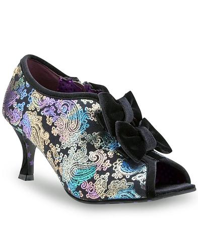 Orbit JOE BROWNS Retro Paisley Suede Retro Shoes