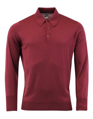Dorset JOHN SMEDLEY Made in England Knitted Polo M
