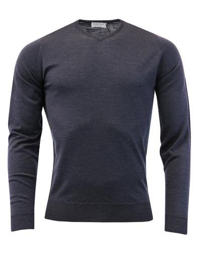 Shipton JOHN SMEDLEY Made in England V-Neck Jumper