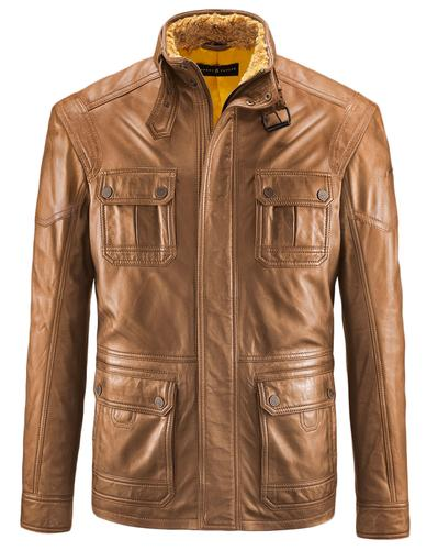 Knutsford BARNEY & TAYLOR Shearling Leather Jacket