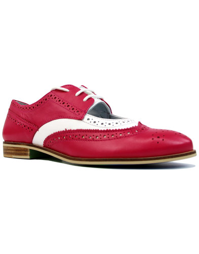 Dockery JASPER JAMES by LACEYS Retro 60s Brogues F