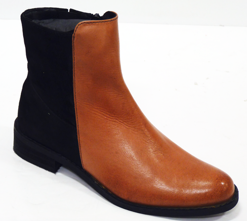 Amyth LACEYS Womens Retro 60s Mod Chelsea Boots