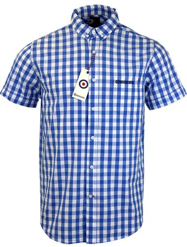 LAMBRETTA RETRO MOD GINGHAM SHIRT