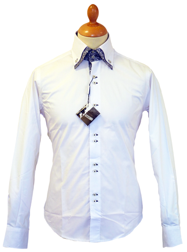 White Shirt Large Collar | Is Shirt
