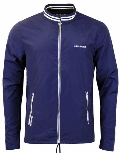 LAMBRETTA ZIP THRU LIGHT WEIGHT JACKET NAVY