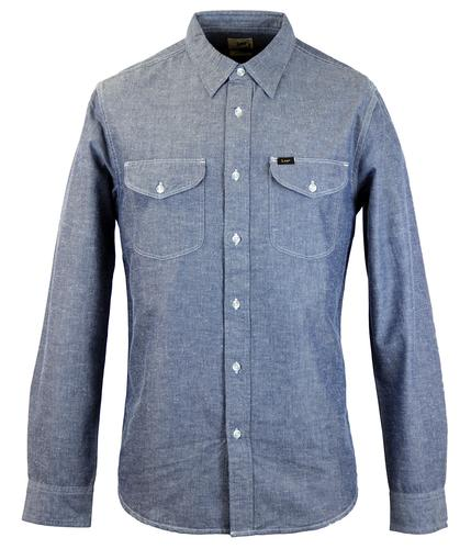 LEE Retro Mod Double Pocket Classic Worker Shirt N