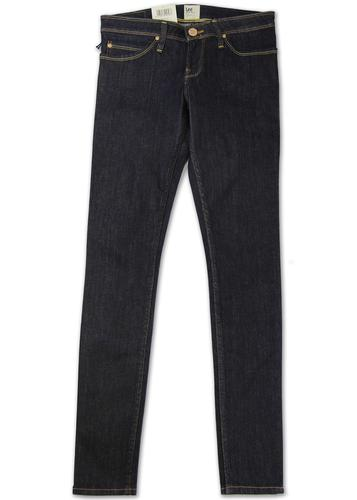 LEE JEANS WOMENS TOXEY SKINNY FIT JEANS