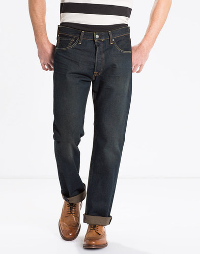 LEVI'S® 501 Original Straight Jeans - Side Walk