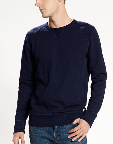 LEVI'S® Retro 70s Mens Original Sweater in Indigo