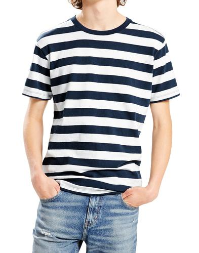 Mighty Tee LEVI'S Retro Mod Bass Stripe T-Shirt M
