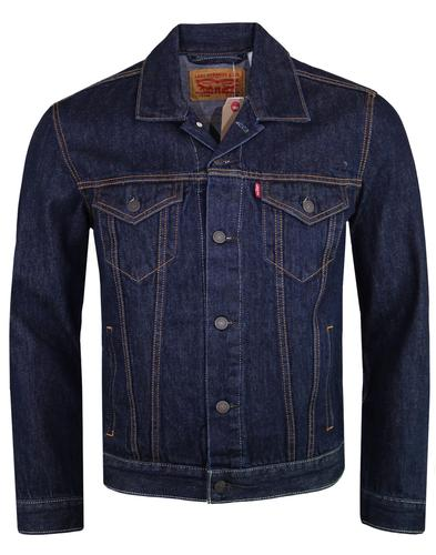 LEVI'S Men's 60's Mod Rinse Denim Trucker Jacket