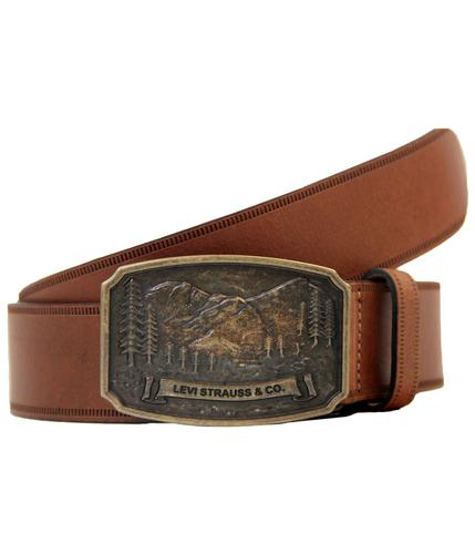 LEVI'S 4 Mountain Retro Vintage Buckle Belt