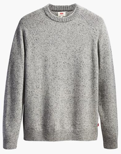 Hayes LEVI'S Retro Mod Nep Knit Crew Neck Jumper G