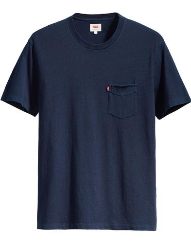 LEVI'S Retro Setin Sunset Pocket T-Shirt (Indigo)