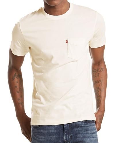 LEVI'S Retro Setin Sunset Pocket Tee (Whitesmoke)