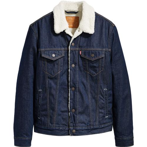 LEVI'S Type 3 Mod Sherpa Trucker Jacket ROCKRIDGE