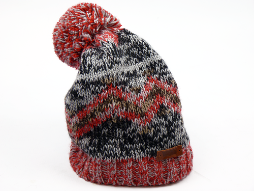 Bobble Hat LEVI'S® Retro 70s Fair Isle Bobble Hat