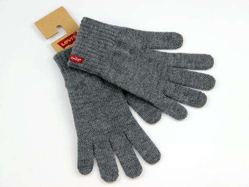 LEVIS RETRO KNITTED GLOVED BEN GREY