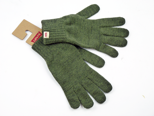LEVIS RETRO MOD INDIE BEN GLOVES DARK KHAKI