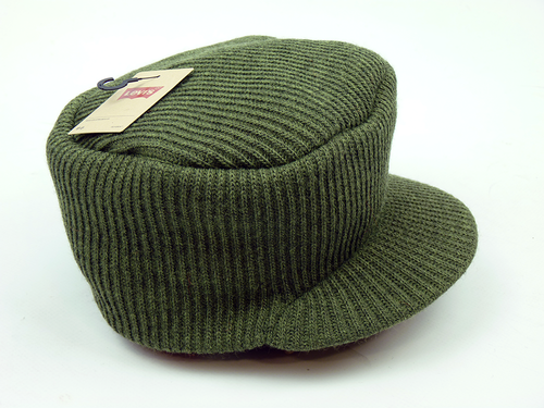 Knitted Train Driver LEVI'S® Retro Knitted Cap (K)