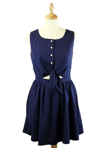 LOVESTRUCK RETRO MOD TIE DRESS PIPPA