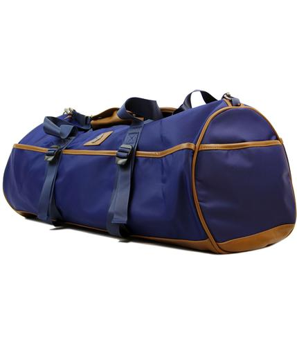 Rafferty LUKE 1977 Retro Mod Holdall Barrel Bag