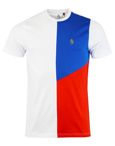 Hoy LUKE 1977 Men's Retro Mod Colour Block Tee (W)