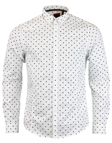 Tommy The Twig LUKE 1977 Mod Polka Dot Shirt (W)