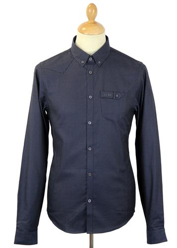 LUKE 1977 SKINNY HARVEY SMART RETRO SHIRT