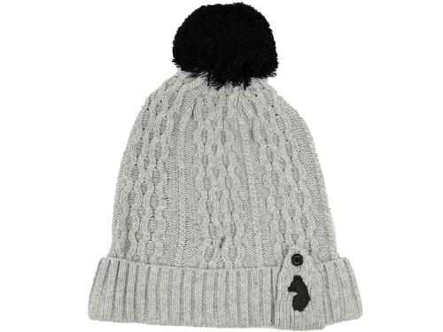 The Birdy Dance LUKE 1977 Cable Knit Bobble Hat MG