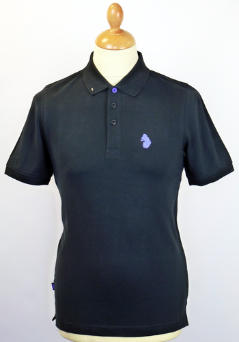 Kelvin LUKE 1977 Retro Indie Mod Slim Fit Polo DN
