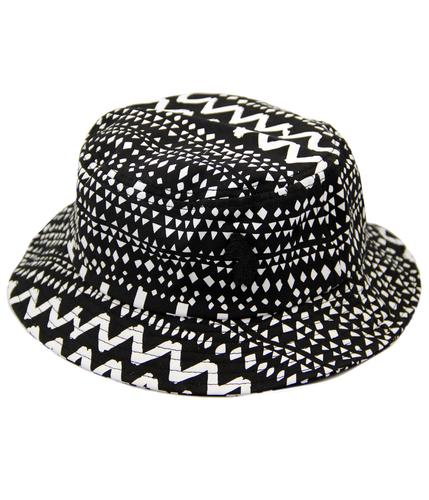 Manis Man LUKE 1977 Retro 90s Indie Bucket Hat (B)