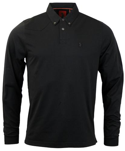 Joe Smash LUKE 1977 Retro Mod LS Shirt Collar Polo