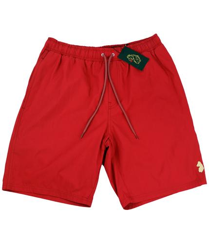 LUKE 1977 RETRO SWIM SHORTS RED