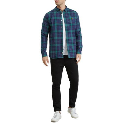 Lyle & Scott Mod Casuals Tartan Flannel Shirt