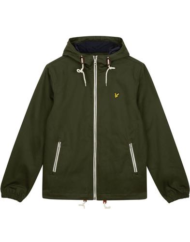 LYLE & SCOTT Mod Hooded Twill Casual Parka Jacket