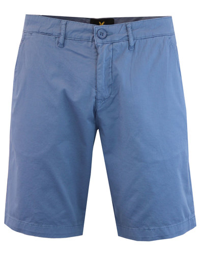 LYLE & SCOTT Men's Garment Dye Shorts MOONLIGHT