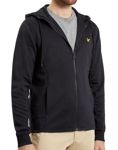 LYLE & SCOTT Retro 70s Hooded Tricot Track Jacket