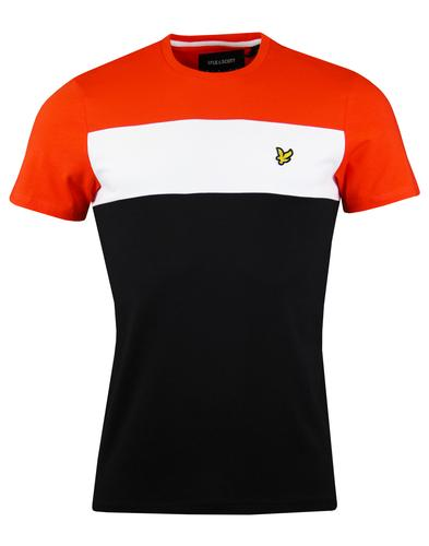 LYLE & SCOTT Retro 80s Colour Block T-shirt (TB)