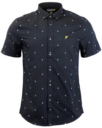 LYLE AND SCOTT RETRO ARCHIVE 70S SHIRT
