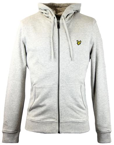 LYLE AND SCOTT RETRO 70S ZIP THROUGH HOODIE
