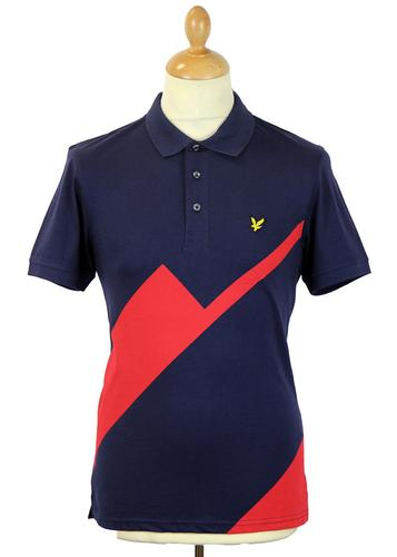 Turnberry LYLE & SCOTT 1980s Archive Golf Polo Top