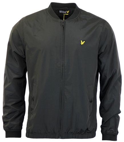 LYLE & SCOTT RETRO MOD LIGHTWEIGHT BOMBER BLACK